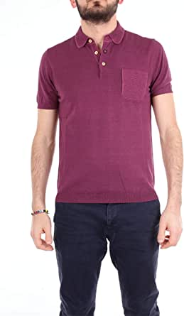 HERITAGE Luxury Fashion Mens 0249P2ZMELANZANA Purple Polo Shirt | Season Outlet