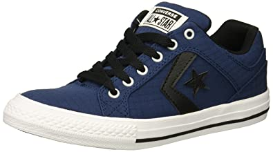 0b2042f9dc5c Converse Boys  El Distrito Ripstop Canvas Low Top Sneaker Navy Black White 5