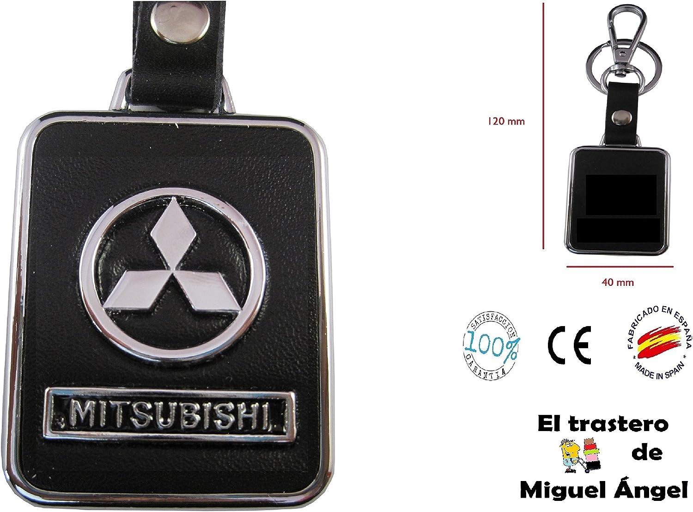 ETMA Porte-cl/és en Cuir et m/étal Compatible avec Mitsubishi lla017-12