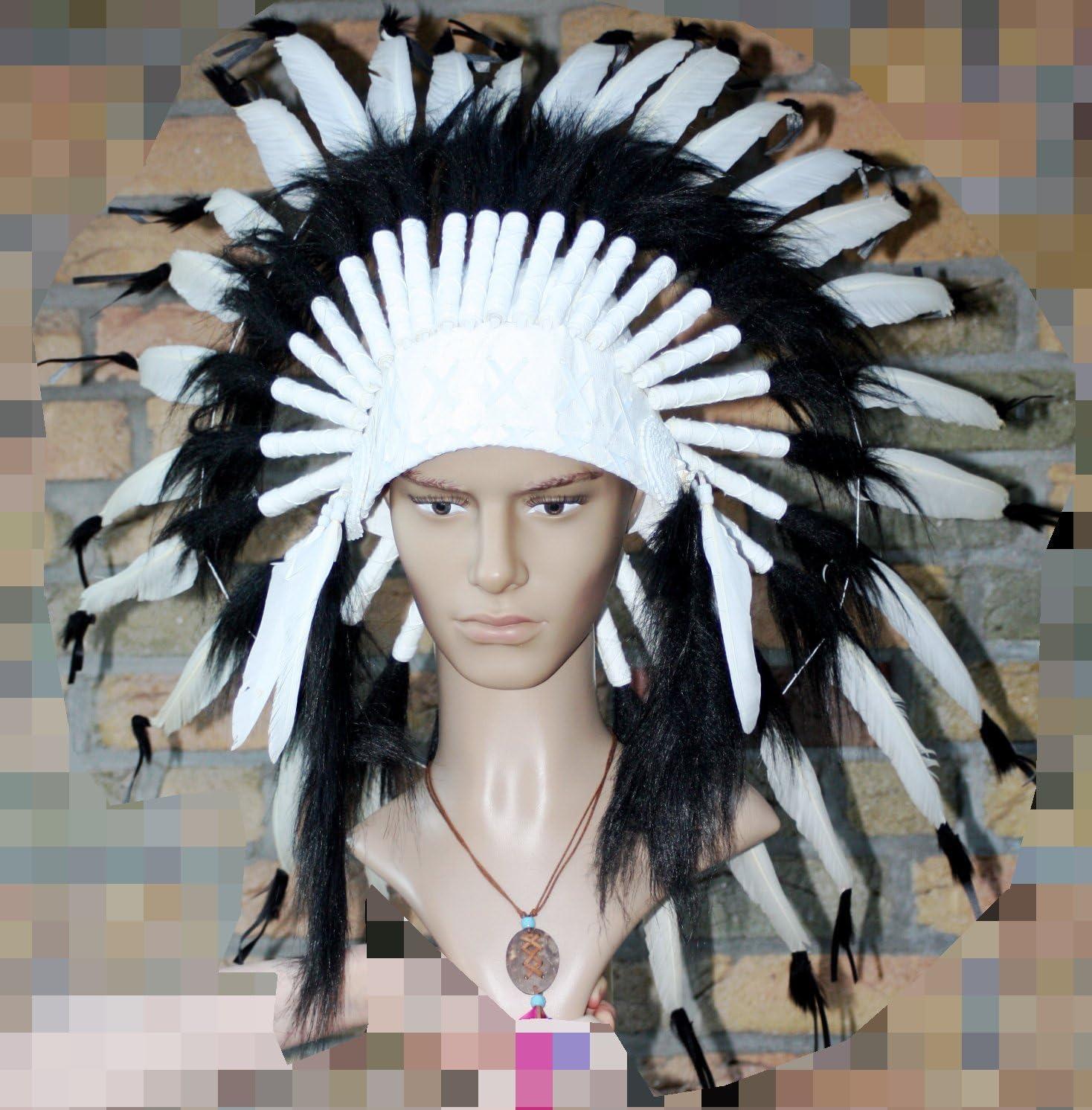 Ornamento pilaou preciosos de oveja negro-turquesa plumas perlas ...