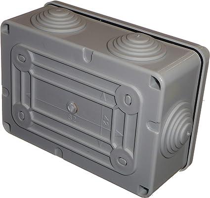 Caja de conexiones con arandelas 120 mm x 80 mm x 50 mm ...