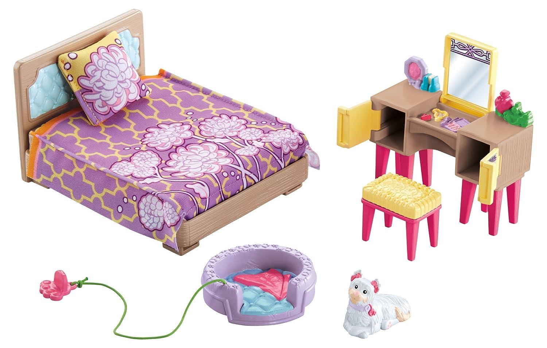 Loving Family Bedroom Furniture Amazoncom Fisher Price Loving Family Parents Bedroom Toys Games