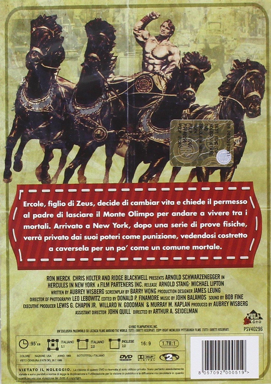 Amazon.com: ercole a new york dvd Italian Import: arnold schwarzenegger, james karen, arthur allan seidelman: Movies & TV