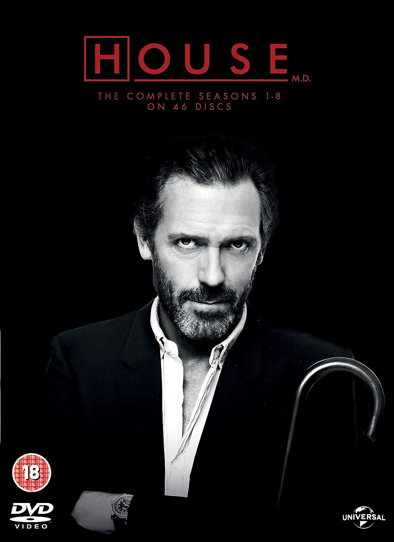 Amazon Com House The Complete Seasons 1 8 Dvd Movies Tv