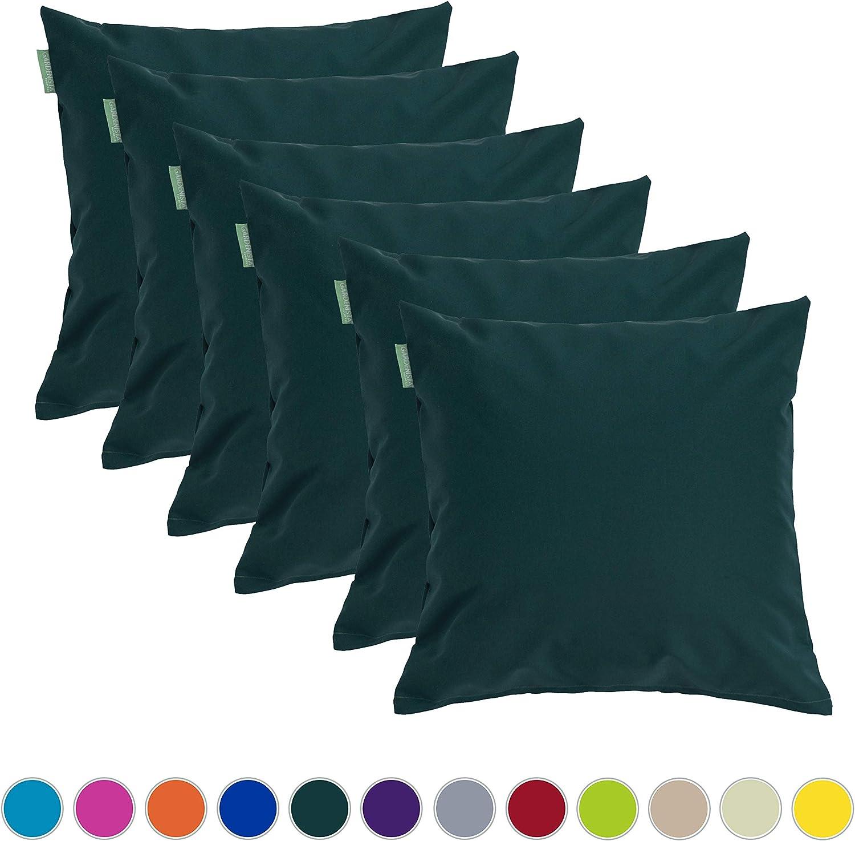"""1 Pezzo, Verde Gardenista/® Cuscino Decorativo 18/"""" per Mobili da Giardino Cuscino da Esterno Resistente allAcqua con Imbottitura in Fiocchi di Schiuma"""