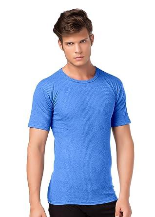 Stylenmore - Camiseta interior térmica de manga corta para hombre, tejido suave cardado: Amazon.es: Ropa y accesorios