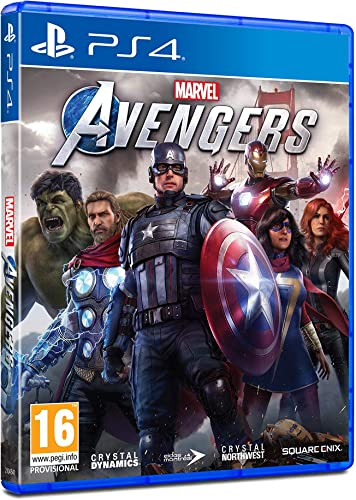 Marvels Avengers - Playstation 4 (Edición Estándar): Amazon.es ...
