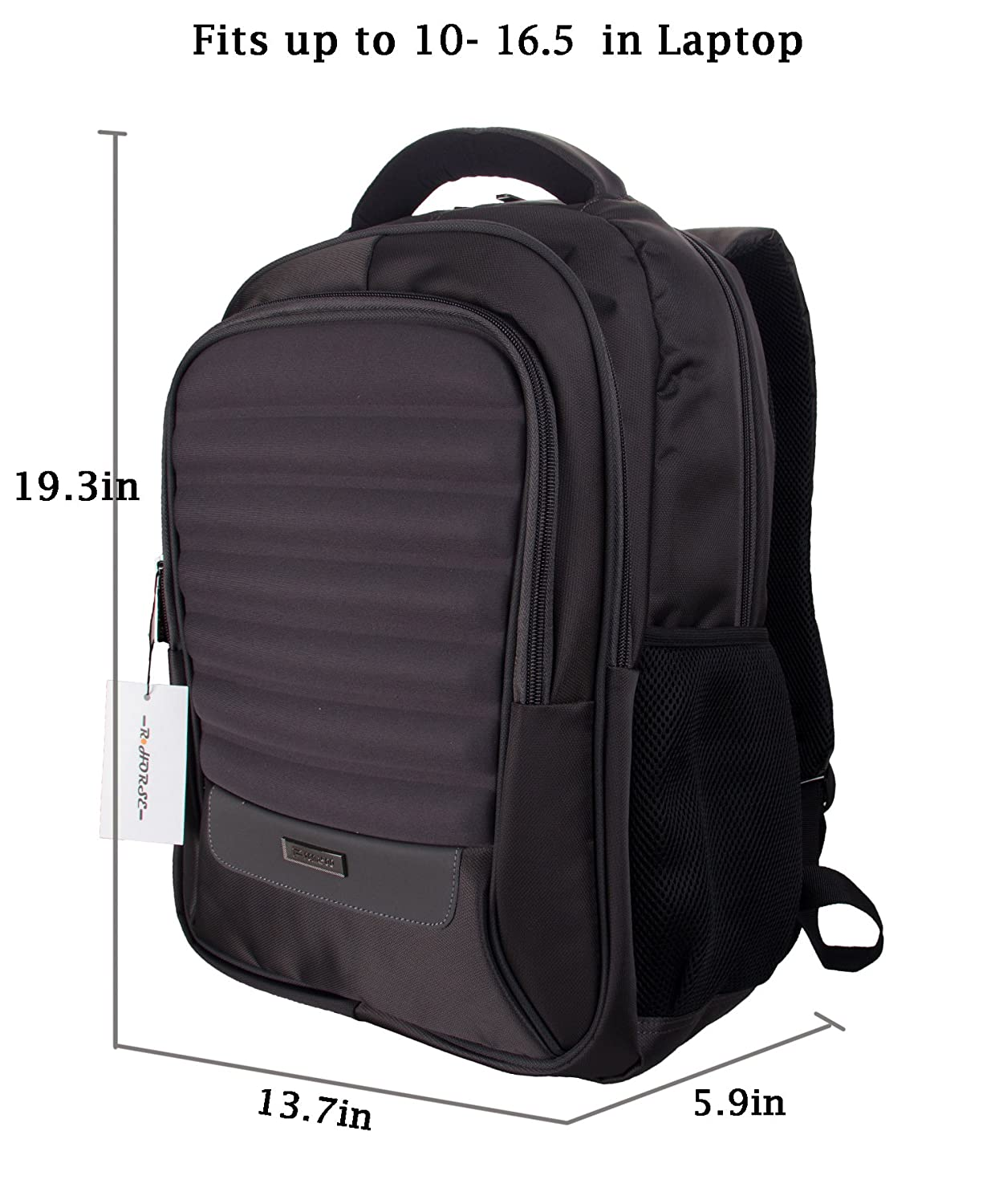 Amazon.com: R Horse 16.5 Inch Backpack Laptop Bag Travel Rucksack ...