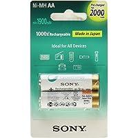 Pilha Aa Recarregável 2100 Mah 2 Unidades Nhaab2knc1 Sony