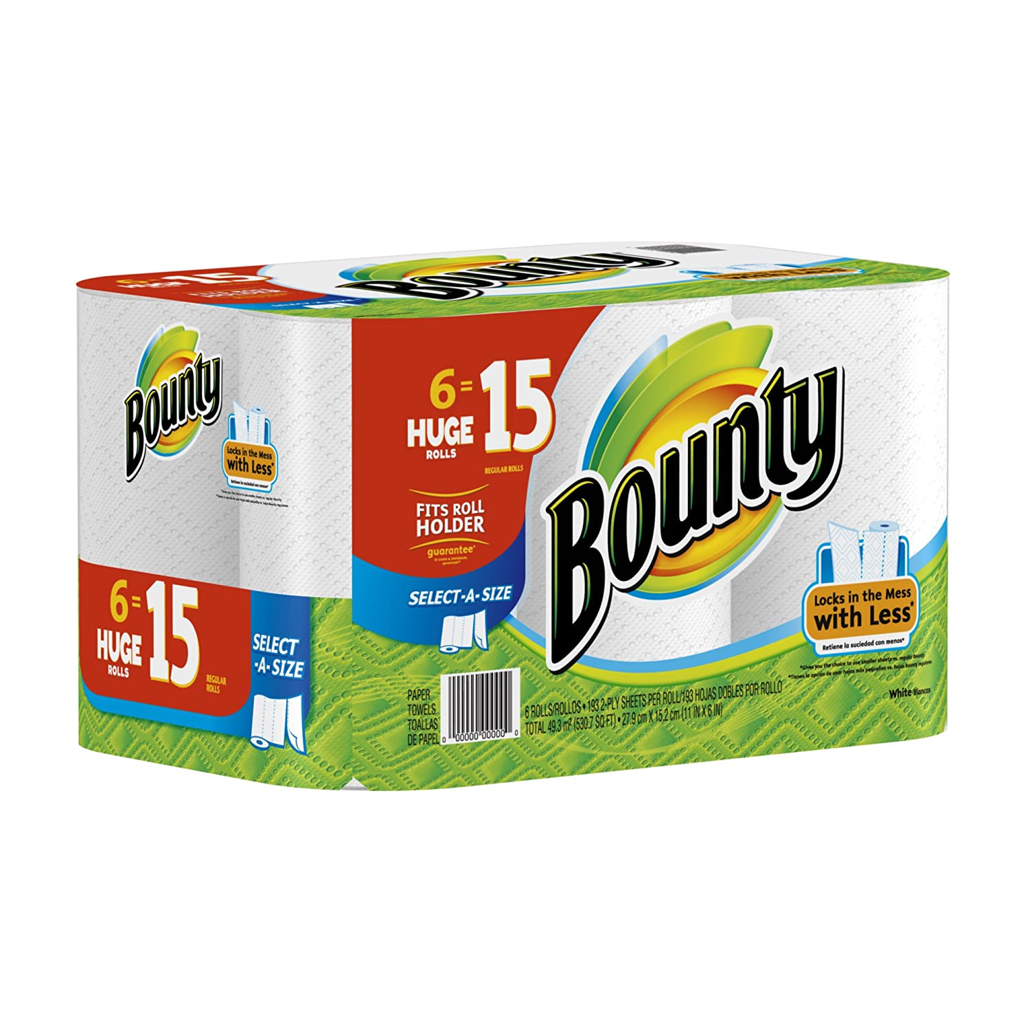 Amazon.com : Bounty Paper Towels : Facial Tissue : Grocery & Gourmet Food