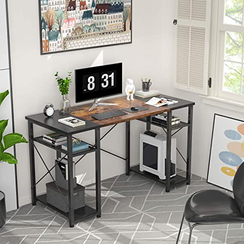 Foxemart Computer Desk 47″ Home Office Writing Desk