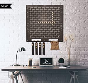 Unique Wall Decor, Convenient to Play Scrabble, Extraordinary Gift, Wall Decor, Wall Art