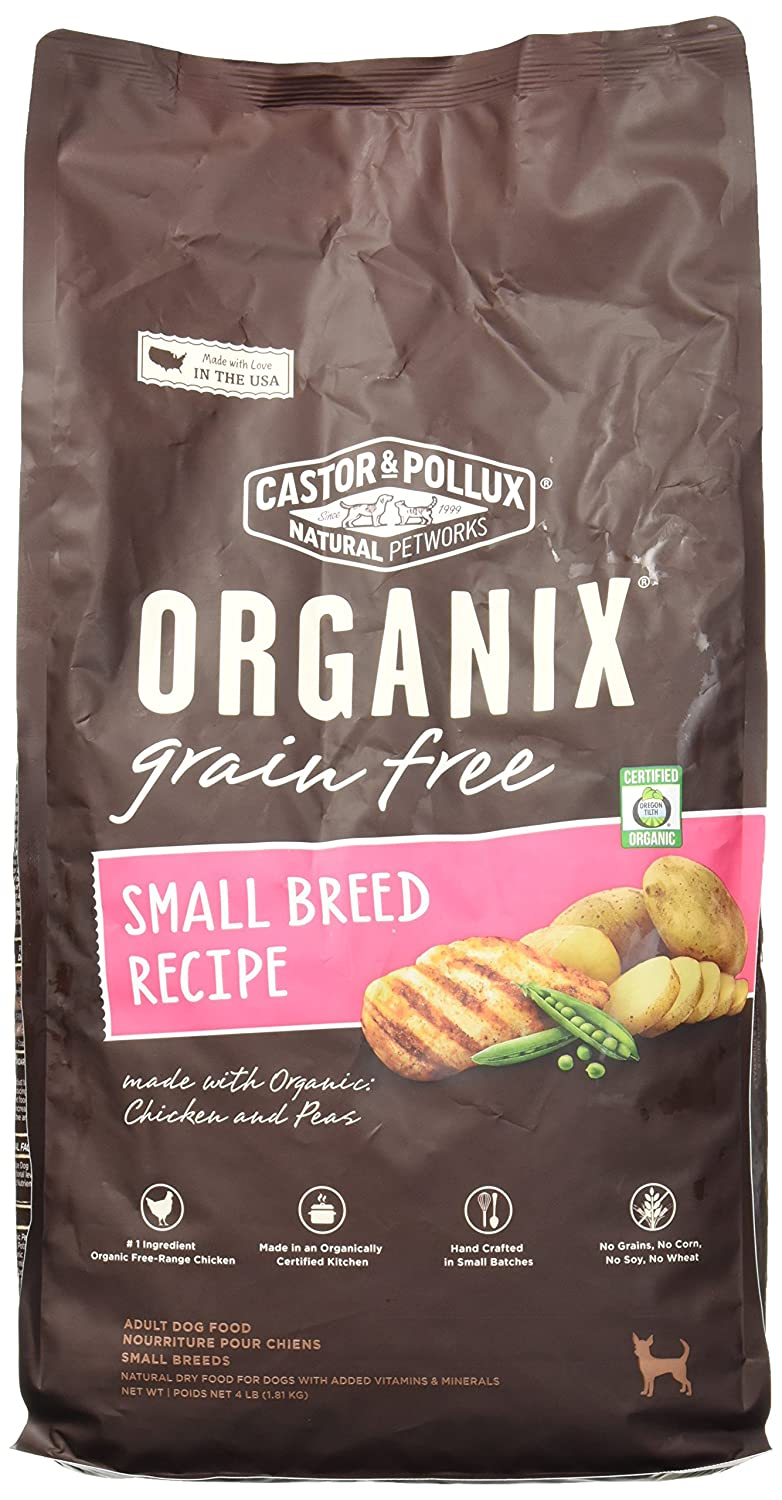 Organix Small Breed Recipe Dry Dog Food, 4 Pound