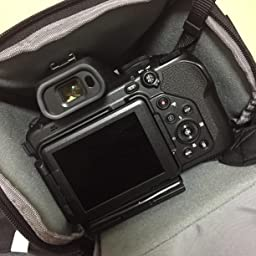 Amazon カメラバッグ Zecti カメラショルダーバッグ 一眼レフケース ソフトキャリングケース ズームバッグ 一眼レフ用 防水 帯電防止全面保護 大容量 持ち運びに便利 ブラック カメラバック ケース 通販
