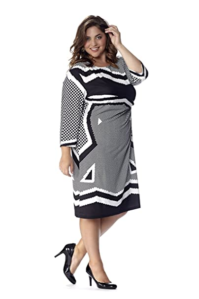 Celebrations Plus Size Business Casual Travel Dress