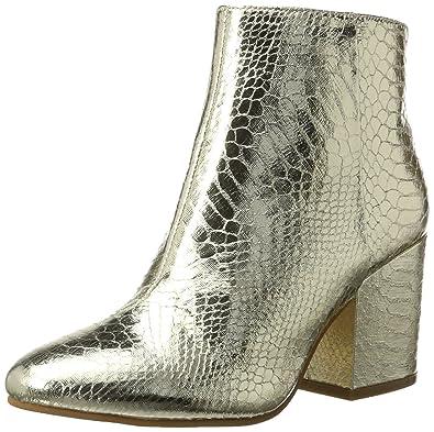 9eb79c013ea278 Buffalo Shoes Damen 416-6358 METALLIC Snake PU Stiefel