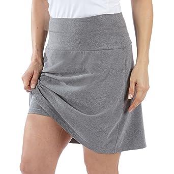 8ff24d47c57dc Teez-Her Women s Tummy Control Low Waist Skort at Amazon Women s Clothing  store