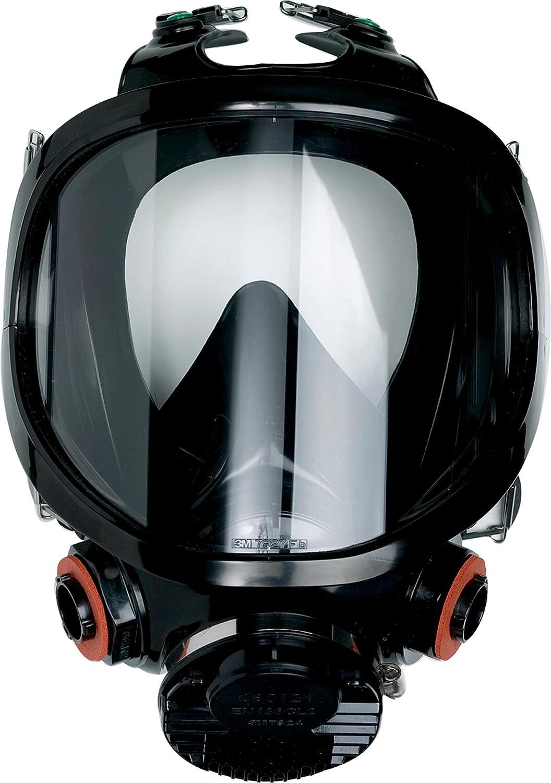 3M Máscara completa reutilizable de silicona (1 máscara/caja ...