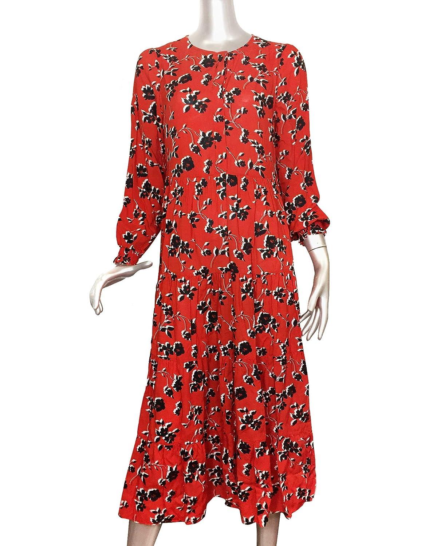 19ceff89 Zara Women Floral Print Dress 3198/043 at Amazon Women's Clothing store: