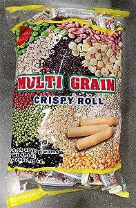 Imperial Taste Multi Grain Crispy Rolls X-Large Bag 2.76lb - 44.1 oz Bag - 125-131 Units 0.35 oz Each Roll