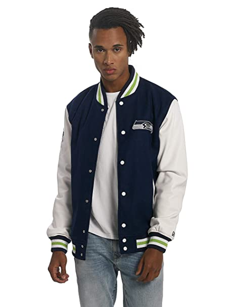 New Era NFL Seattle Seahawks College Varsity Jacket Mens Special Limited Edition: Amazon.es: Ropa y accesorios