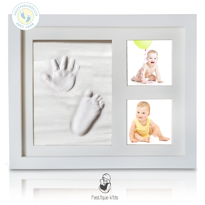 Baby Bilderrahmen Mit Abdruck Fastique Kids Fuss Und Handabdruck