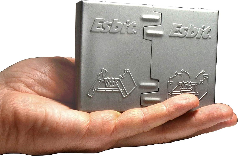 Esbit Ultralight Folding Pocket Stove with Solid Fuel Tablets