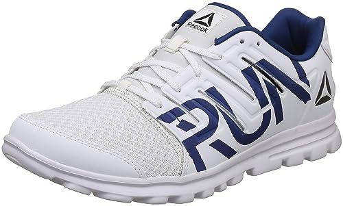 5020d85f9cd7 Reebok Men s Ultra Speed 2.0 White Bunker Blue Running Shoes-7 UK India