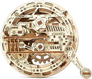 UGEARS Mechanical Wooden 3D Puzzle Model Monowheel Construction Set