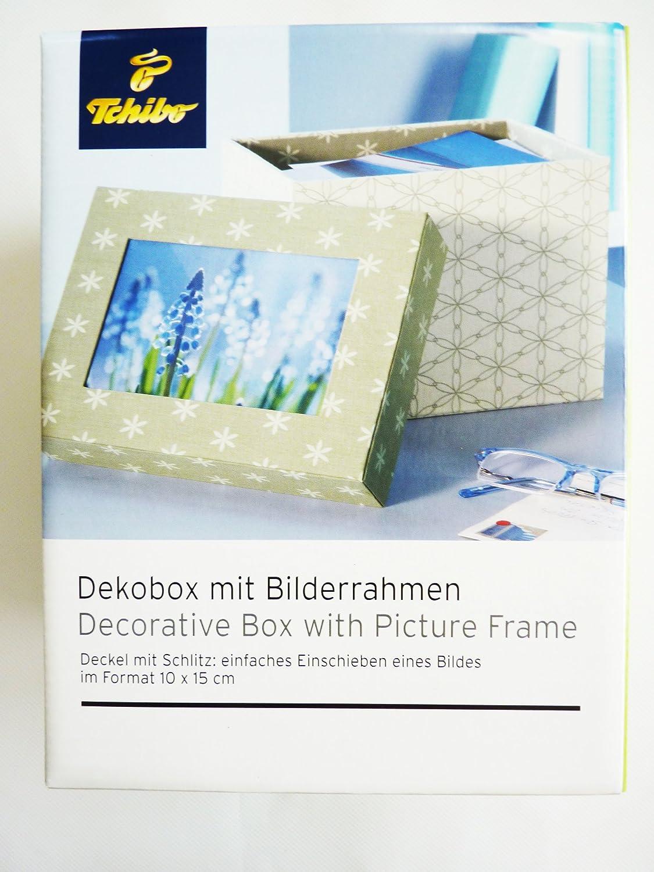 TCM Tchibo Dekobox mit Bilderrahmen Aufbewahrung Box Schachtel ...