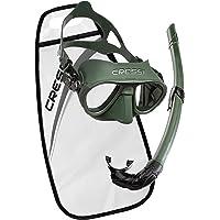 Cressi Calibro/Corsica Maske Şnorkel Set, Yumuşak Yapısı ile Çoklu Kullanıma Uygun