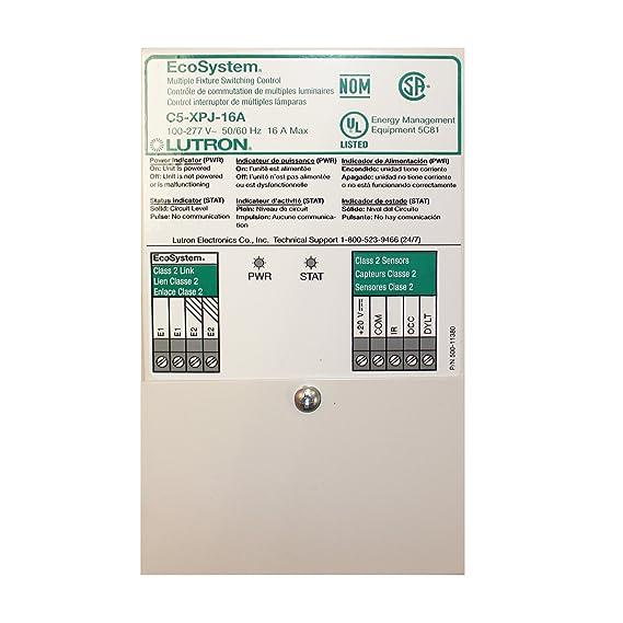 Amazon.com: Lutron C5-XPJ-16A Ecosystem Switching Power ...