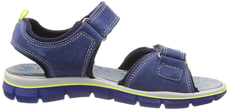 3.5 UK Primigi Boys/' PTV 33968 Ankle Strap Sandals Blue Bluette//Blu 3396800