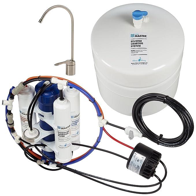 Home Master tmafc Artesian Full Contact Undersink filtro de agua de ósmosis inversa sistema: Amazon.es: Bricolaje y herramientas
