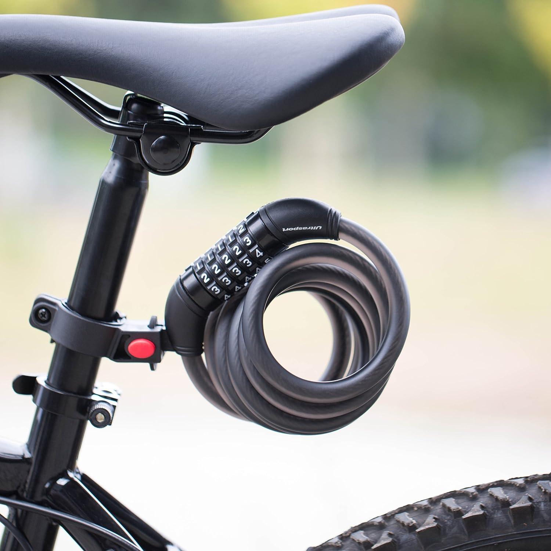 MTB Rennrad 5-stellig Kombination Kabelschloss Fahrrad Sicherheit Sperren Neu