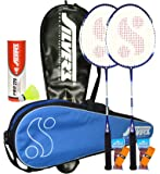 Silver's Delta Badminton Kit Combo 2 with Yellow Nylon Shuttlecock