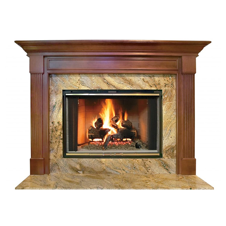 amazon com franklin mdf primed fireplace mantel surround shelf