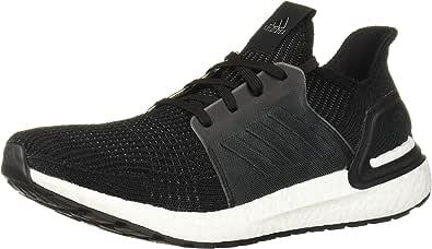 adidas Men's Ultraboost 19 Running Shoe, Black/Black/White, 10.5 M US