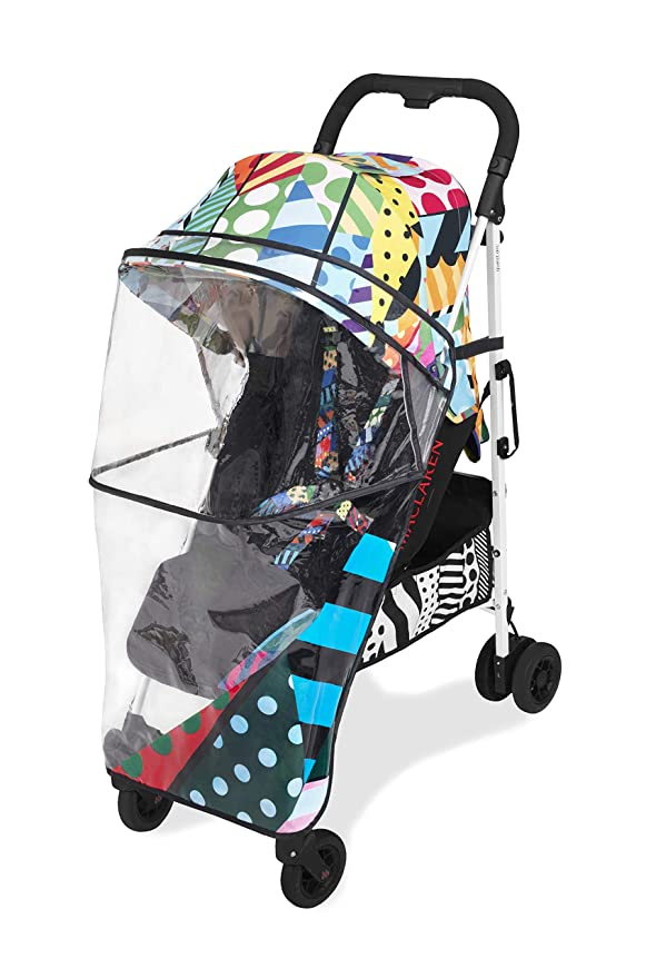 Maclaren Quest arc Jason Woodside Silla de paseo - ligero, manillar unido, para recién nacidos hasta los 25kg, Asiento multiposición, suspensión en ...