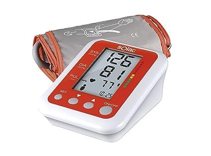 Solac TE7801 Tensiotek Plus - Tensiometro digital de medicion automatica de la tension y pulso cardiaco
