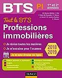 Tout le BTS Professions immobilières - 2018-2019 - 1re et 2e années