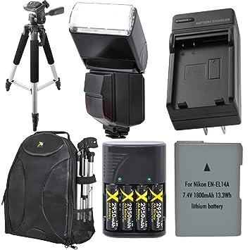 Esencial Bundle de Accesorios de viaje para Nikon D3200 ...