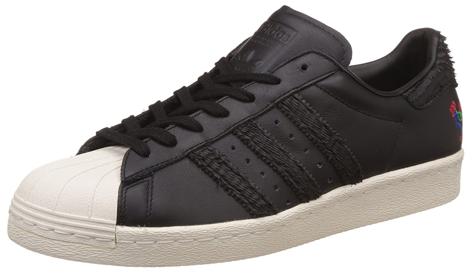 adidas Originals Men's Superstar 80S Cny Cblack and Cwhite Leather Sneakers  - 11 UK/India (46 EU): Buy Online at Low Prices in India - Amazon.in