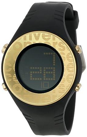 Converse Reloj Digital para Unisex de Cuarzo con Correa en Silicona CO187SG5L3: VR7-25: Amazon.es: Relojes