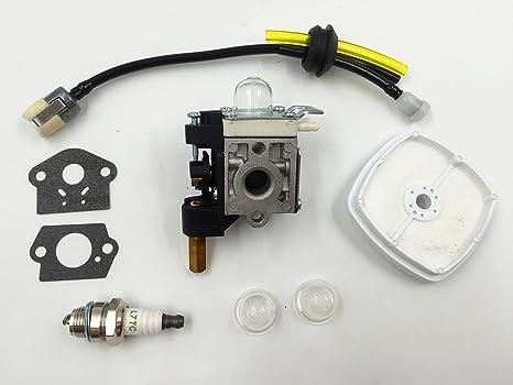 fanyan carburador con Kit de mantenimiento de combustible bujías para Echo GT200 gt201i refrigerador hc151 PE200