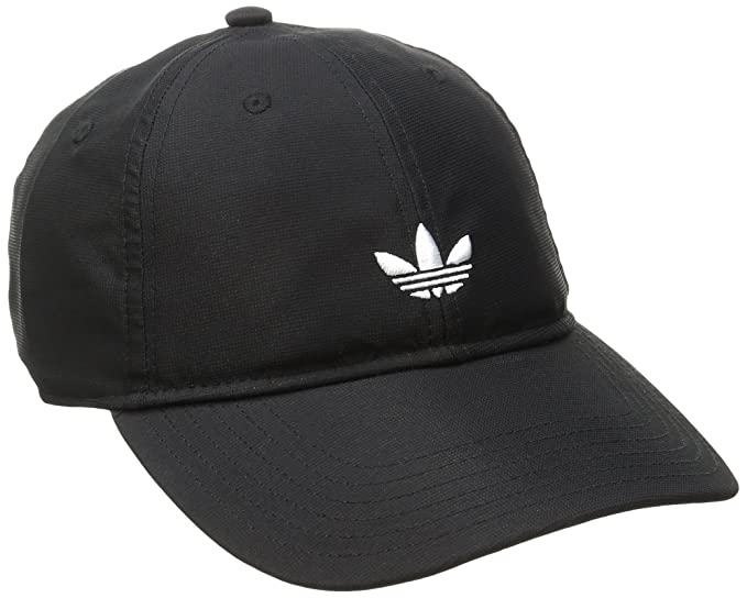 info for 3fca4 1ca2a adidas Men s Originals Modern Relaxed Adjustable Strapback Cap, Black, One  Size