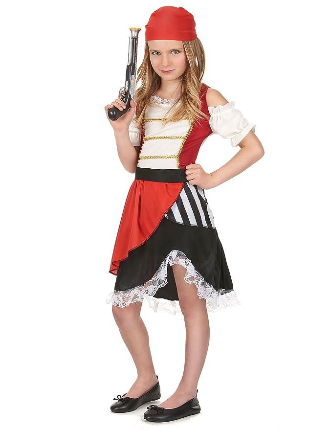 Disfraz pirata niña - 4 - 6 años: Amazon.es: Juguetes y juegos