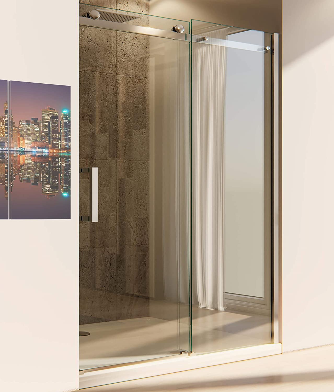 ol docce OL duchas puerta Ducha H195 cm 1 Puerta Corredera de cristal 8 mm transparente Mitra Varios Tamaños: Amazon.es: Hogar
