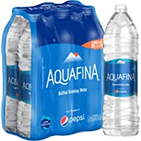 Aquafina Bottled Drinking Water, 1.5 Litre, 5+1 Pack