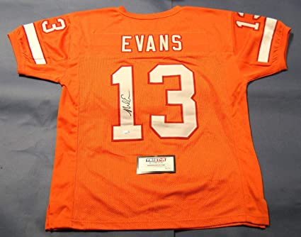 MIKE EVANS AUTOGRAPHED TAMPA BAY BUCCANEERS THROWBACK JERSEY TRISTAR ... 9976e91a8